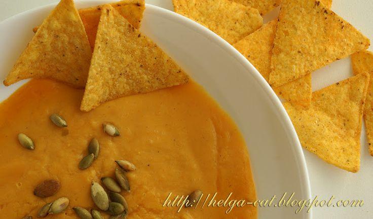 Домик вышивающей кошки: Оранжевая еда — солнышко в тарелках )))