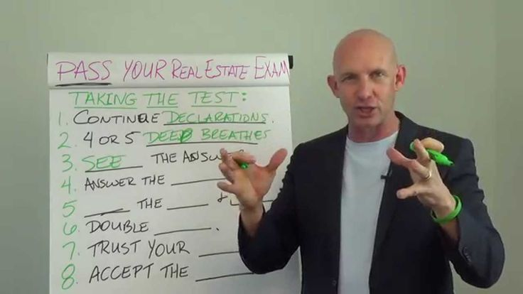 How to Pass Your Real Estate License Exam the First Time: Taking the Test -