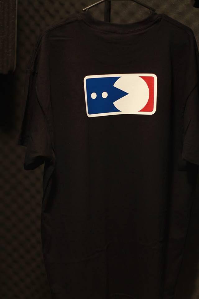 Custom Pacman Logo League Shirt for Veteranos Barber Shop in Tucson, AZ