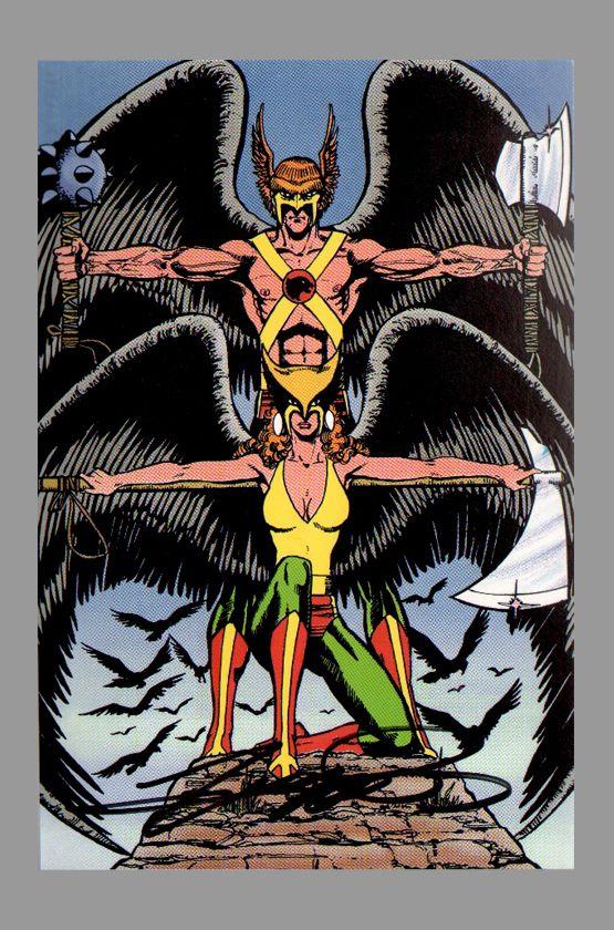 Hawkman & Hawkgirl by George Perez