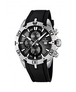 FESTINA Black Rubber Chronograph F16672/2