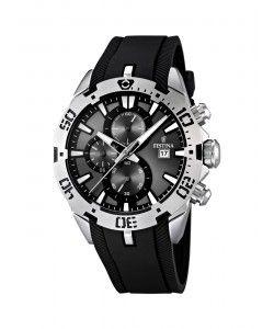 FESTINA Black Rubber Chronograph F16672/2