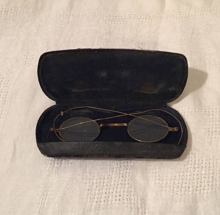 A personal favorite from my Etsy shop https://www.etsy.com/listing/574309208/antique-granny-glasses-with-case-old