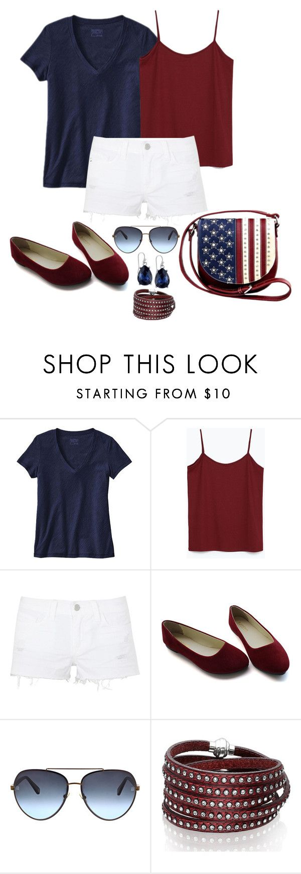 """""""Untitled #1083"""" by gallant81 ❤ liked on Polyvore featuring Patagonia, Zara, J Brand, Montana West, Oscar de la Renta, Sif Jakobs Jewellery and 2028"""