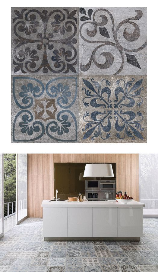 Antique by porcelanosa tiles kitchen porcelanosa for Carrelage portugais cuisine