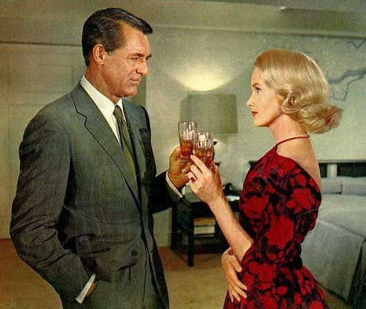 Cary Grant and Eva Marie Saint - North by Northwest
