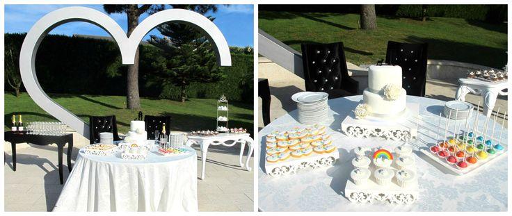Creative Wedding Planner Rainbow Wedding