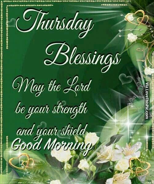 Thursday Blessing