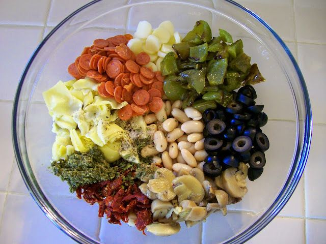 Eggface Healthy Italian Recipes: Pizza Bean Salad
