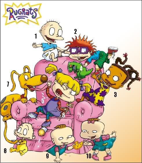 Rugrats Characters 90 S