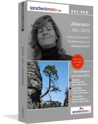 ALBANISCH lernen Sprachkurs-KOMPLETTPAKET auf DVD € 66,45