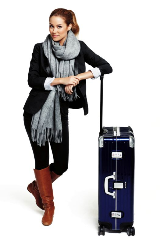 Lauren Conrad - How to Travel Fashionably. Style tips for your next