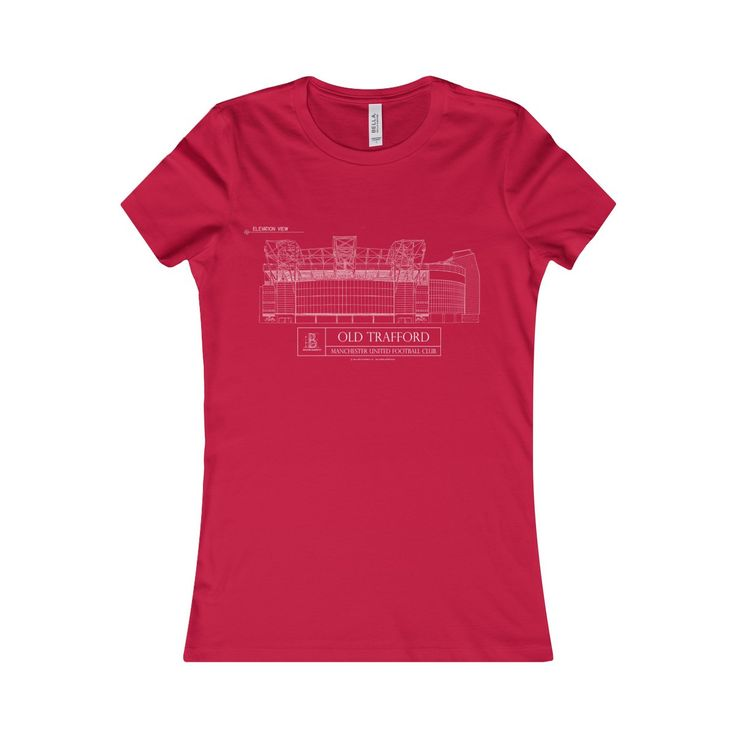 Old Trafford Women's Favorite Short-Sleeve Tee