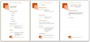 Lebenslauf Muster, Vorlage und Beispiele kostenlos für die Bewerbung