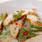 Chicken & Coriander Angel Hair Salad