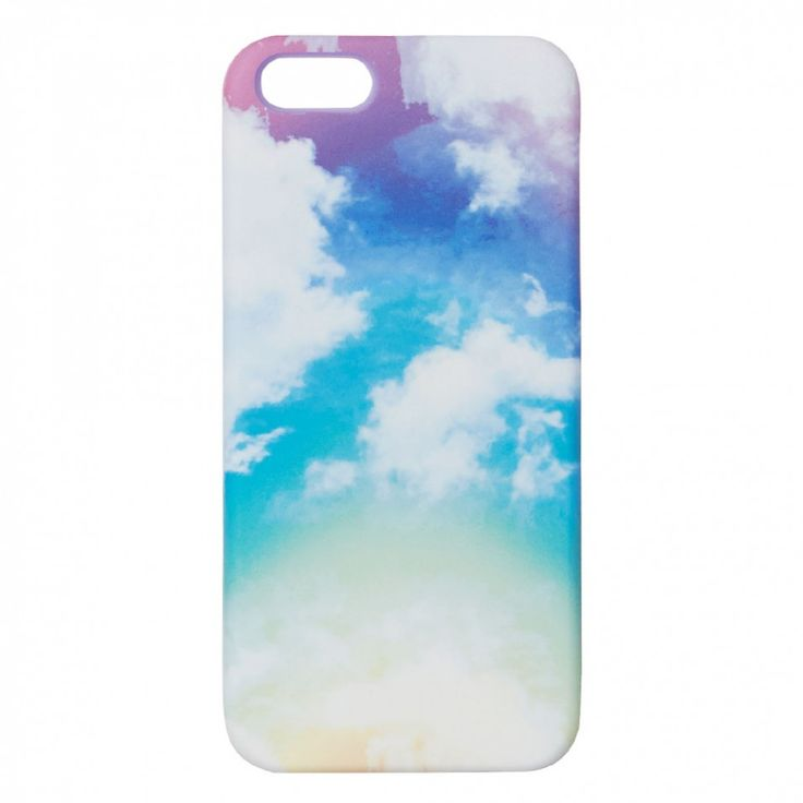 Pastel clouds iPhone 5 case