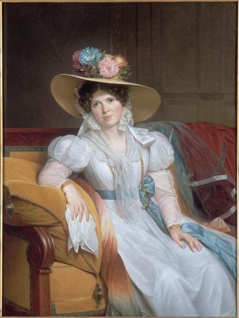 Portrait de madame Casimir Périer, née Pauline Loyer (1788-1761)  Description :  vers 1831  Author :  Hersent Louis (1777-1860)  Photo Credit :  (C) RMN-GP / Gérard Blot