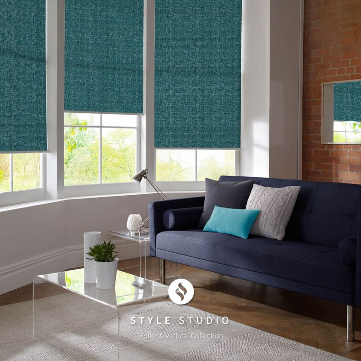 Rose Living Room Roller Blinds By Style Studio Quartz And Serenity Colour Scheme Pink Home Decor