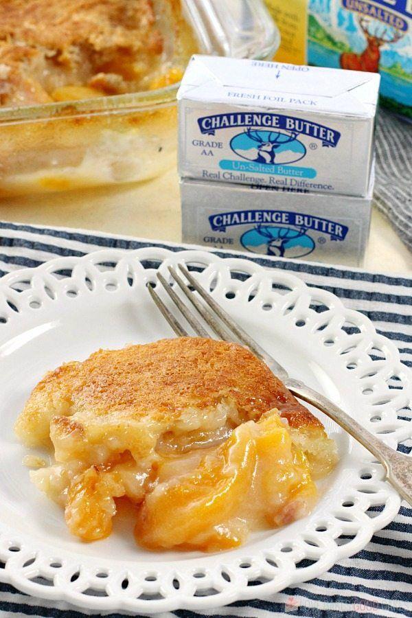 Easy Southern Peach Cobbler Recipe Peach Dish Southern Peach