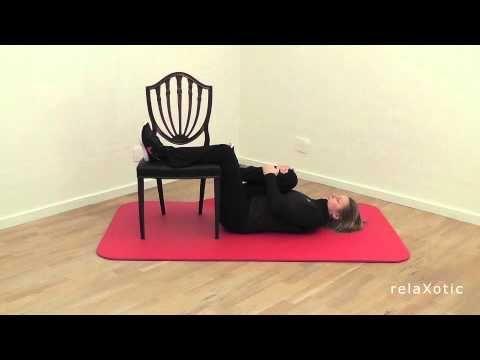 Liggende øvelser for ben og nedre ryg - YouTube