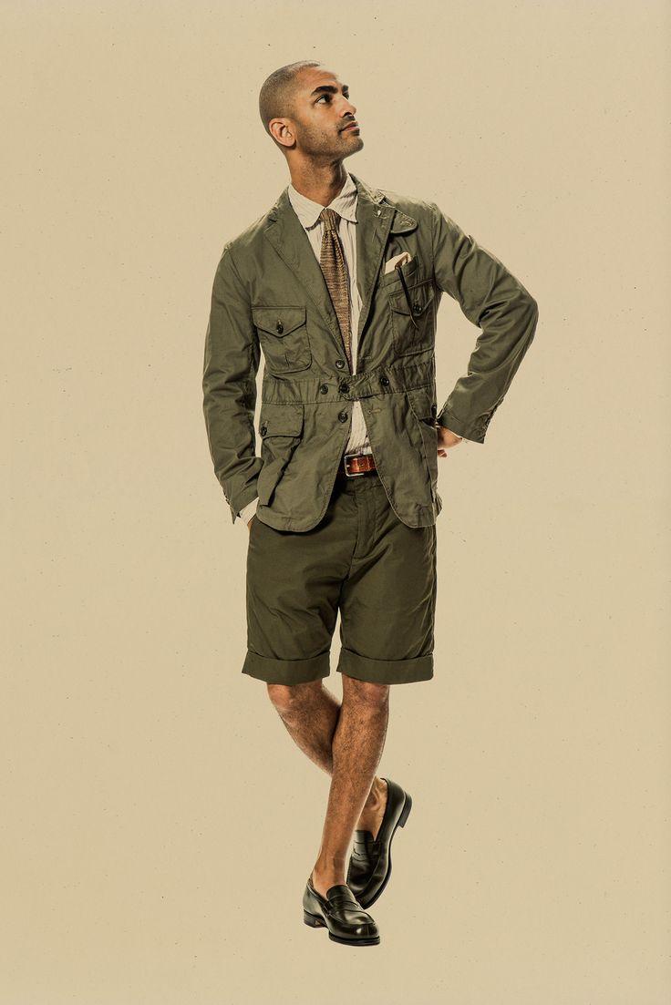 Farb-und Stilberatung mit www.farben-reich.com - Engineered Garments Spring 2015 Menswear.