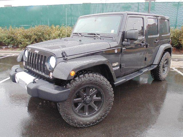 2014 Jeep Wrangler Sahara Unlimited  $36,895 http://www.iseecars.com/used-cars/used-jeep-wrangler-for-sale
