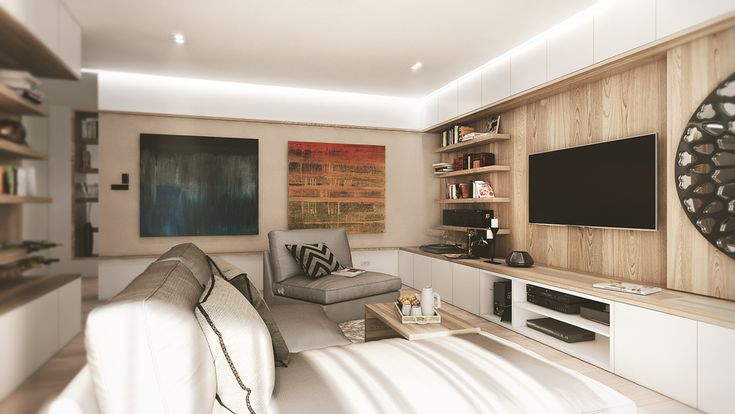 ©andibuftea - M.A. | Warm Apartment - in work on Behance