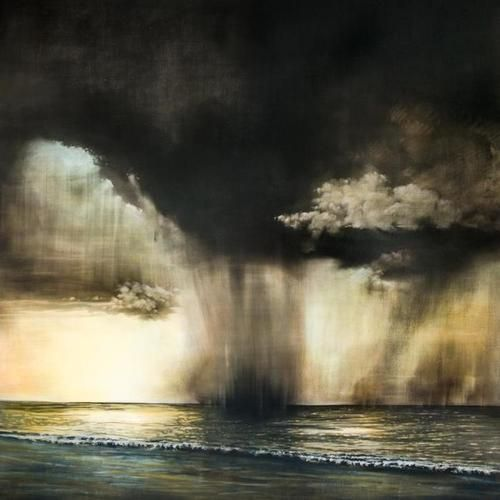 Stephen Hutchings(Canadian, b.1948) Sea Symphony 2012, oil and charcoal on canvas