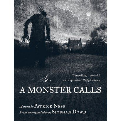 Thirteen-year-old Conor awakens one night to find a monster outside his bedroom window, but not the one from the recurring nightmare that began when his mother became ill - an ancient, wild creature that wants him to face truth and loss. See if it is available: http://www.library.cbhs.school.nz/oliver/libraryHome.do