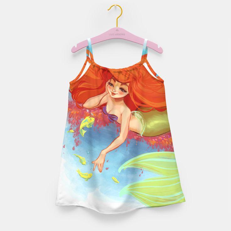 Mermaid 5 Mädchenkleid, Live Heroes