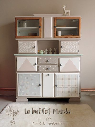 196 best Buffet , commode , armoire images on Pinterest - Moderniser Un Meuble Ancien