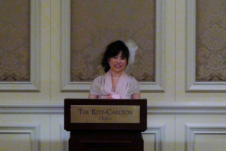 My birthday party! at The Ritz-Carlton, Osaka! We spoke about our success story.