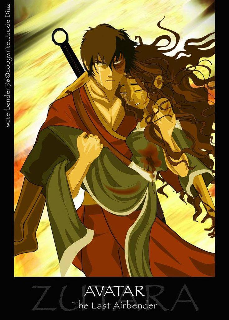 I LOVE Katara and Aang but I ship them hard