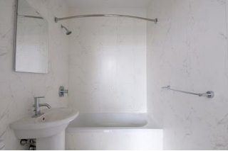 How to Change the Color of a Fiberglass Tub & Shower Enclosure   eHow