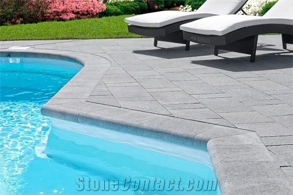17 best ideas about pool coping on pinterest swimming - Installing pavers around swimming pool ...