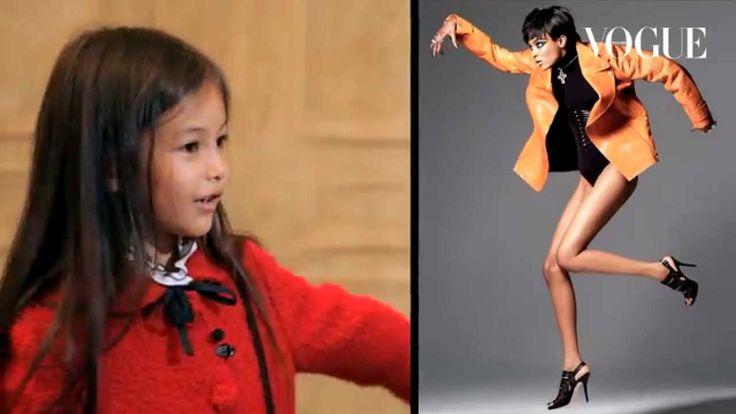 Смешные реакции детей на фэшн-съемки Vogue