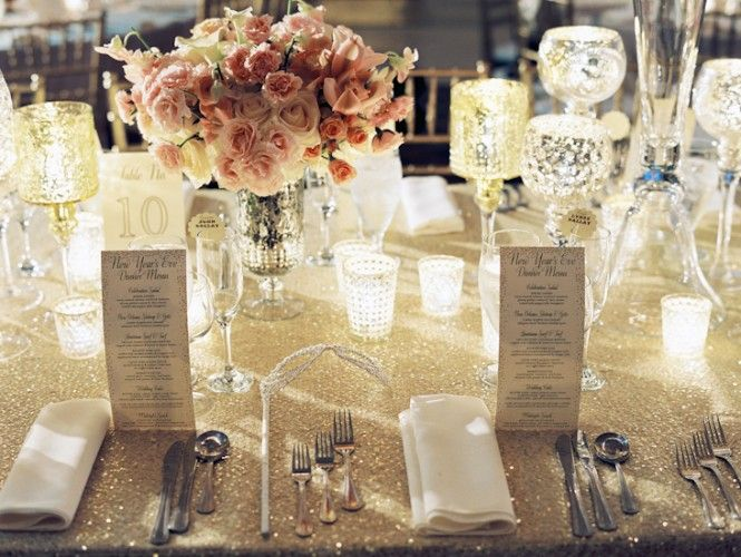 NYE Wedding Glitz