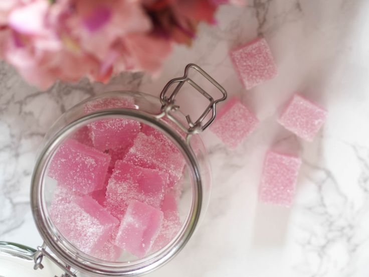 DIY Christmas Gifts Part 1 - Sugar scrub cubes
