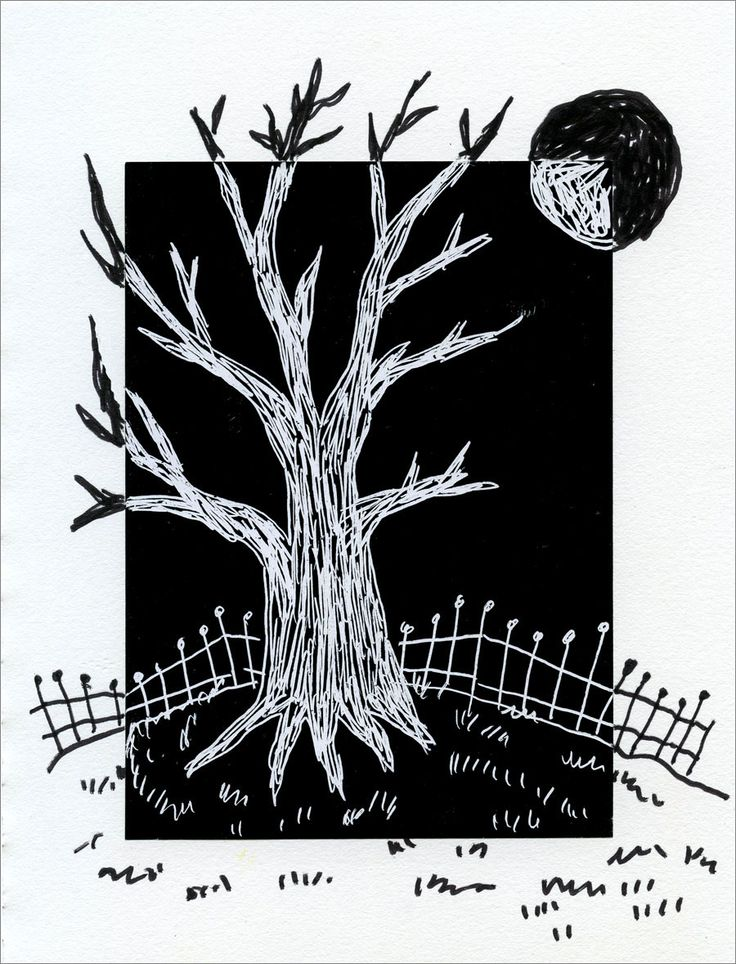 Scratch Art paper glued to drawing paper. Art Projects for Kids