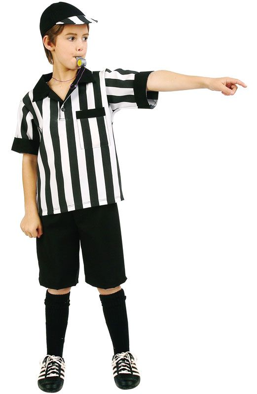 how to make a referee costume
