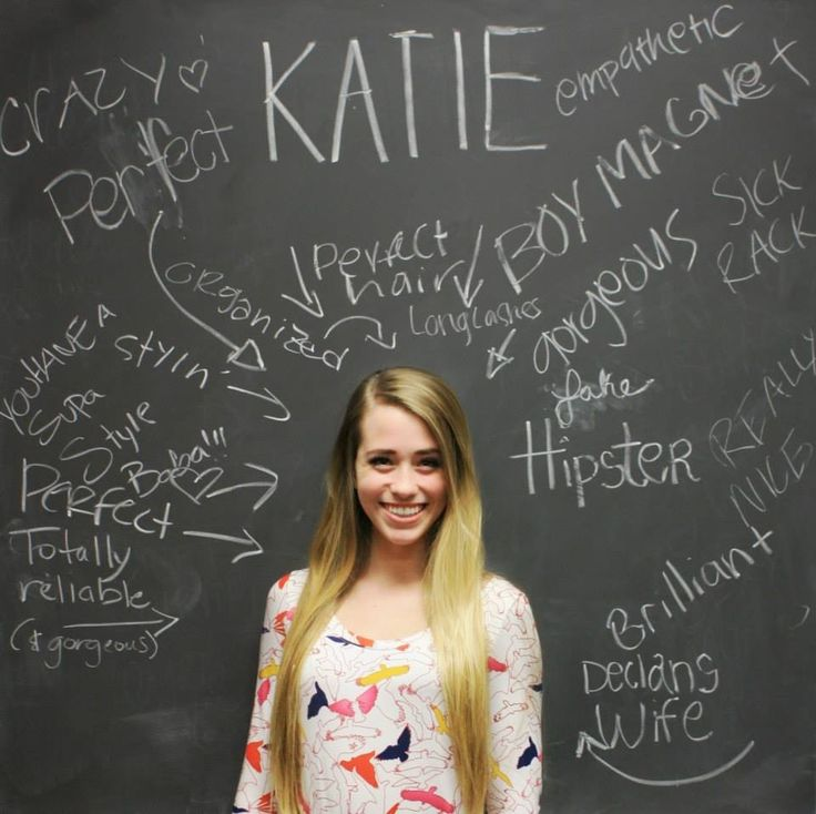 This was so much fun! Have each girl stand in front of a chalk board or white board, and let the other girls write things behind her. Don't let the girl see what was written, but snap a picture to give to her later. Young women ideas. Individual worth.