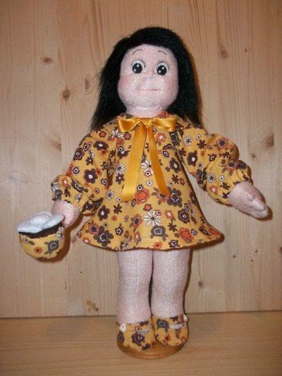 Soft Sculpture Doll PDF Instruction ad Pattern & Rossella Cake Designer