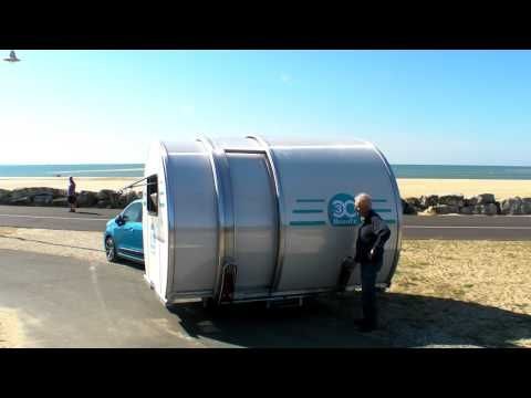 Camper 'Telescopes' Sideways For Three Times The Space | Gear Junkie