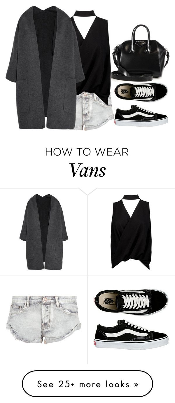 """Untitled #3994"" by ericacavaco12 on Polyvore featuring OneTeaspoon, Boohoo, Vince, Vans and Givenchy"
