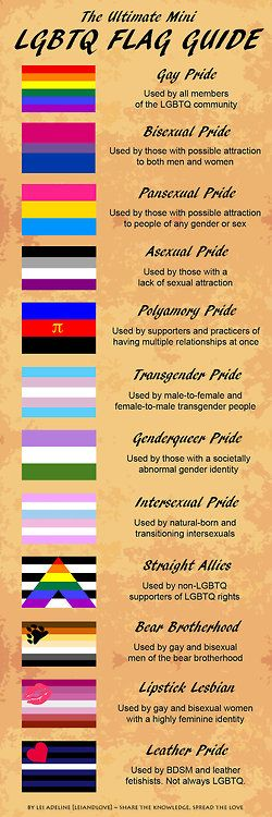 a collection of flags that represent the LGBTQ community and other similar…