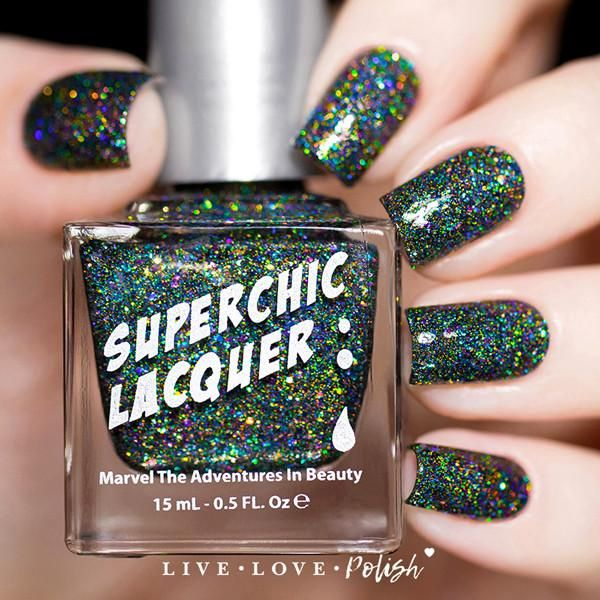SuperChic Mischief Night Nail Polish (The Night Of Terror Collection)