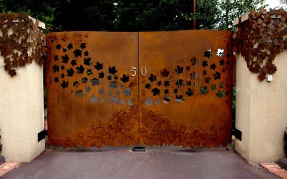 Best 25+ Steel Gate Ideas On Pinterest