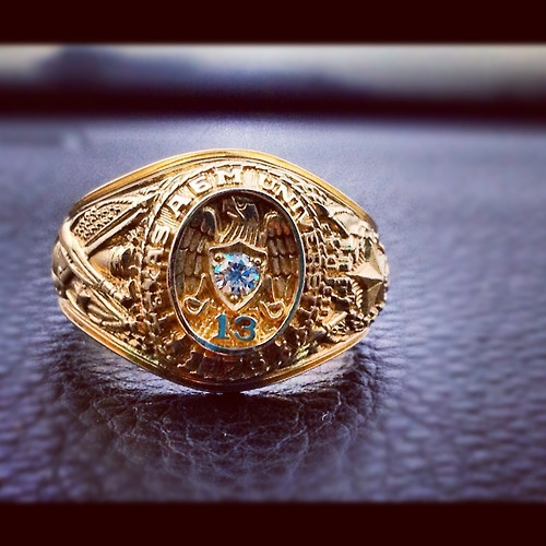 So excited for my Aggie ring. Fightin' Texas Aggie Class of '13!