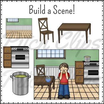 This set of nursery rhyme/ folk song clipart for Pease Porridge Hot is awesome! I love the variety included! #tpt #pitchclips #teacherspayteachers #clipart #tptclipart #musicclipart #clipartmusic