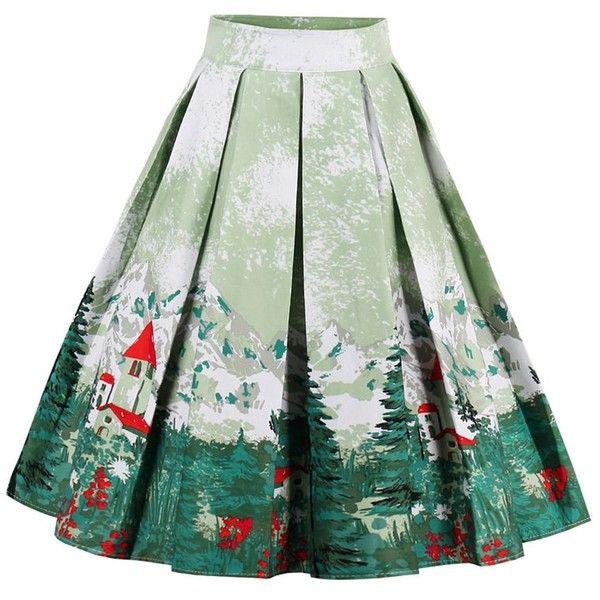best 25 green skirt ideas on
